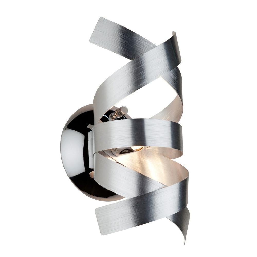 Bel Air 1-Light Brushed Nickel Sconce
