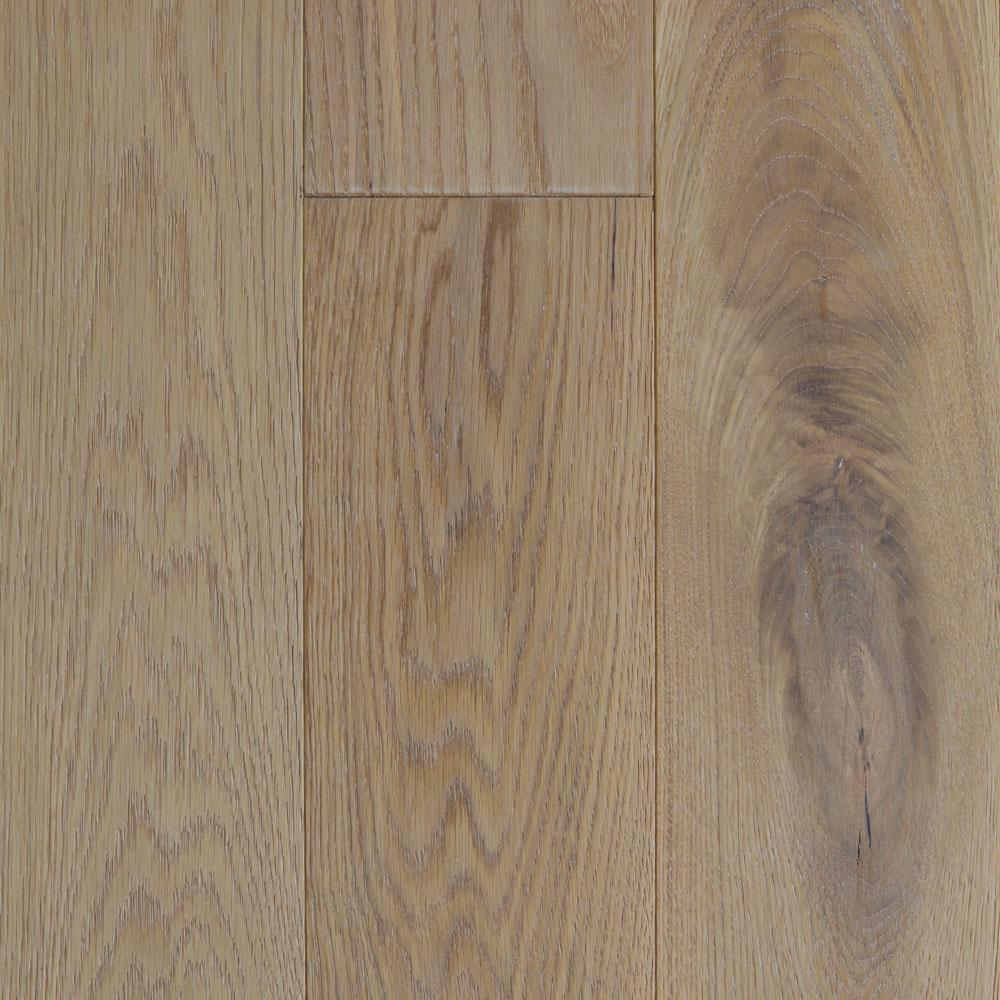 Blue Ridge Hardwood Flooring Take Home Sample - Castlebury Wimborne European Sawn White Oak Click Engineered Flooring - 5 in. x 7 in.