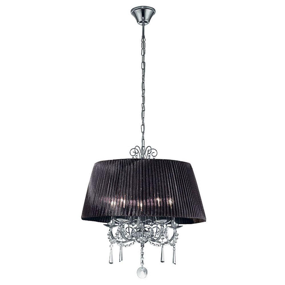 Eglo Diadema 5-Light Chrome Hanging Lantern