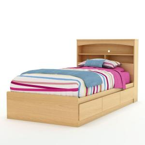 South Shore Urben Twin Kids Storage Bed 3113212