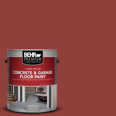 1 gal. #BIC-49 Red 1-Part Epoxy Concrete and Garage Floor Paint