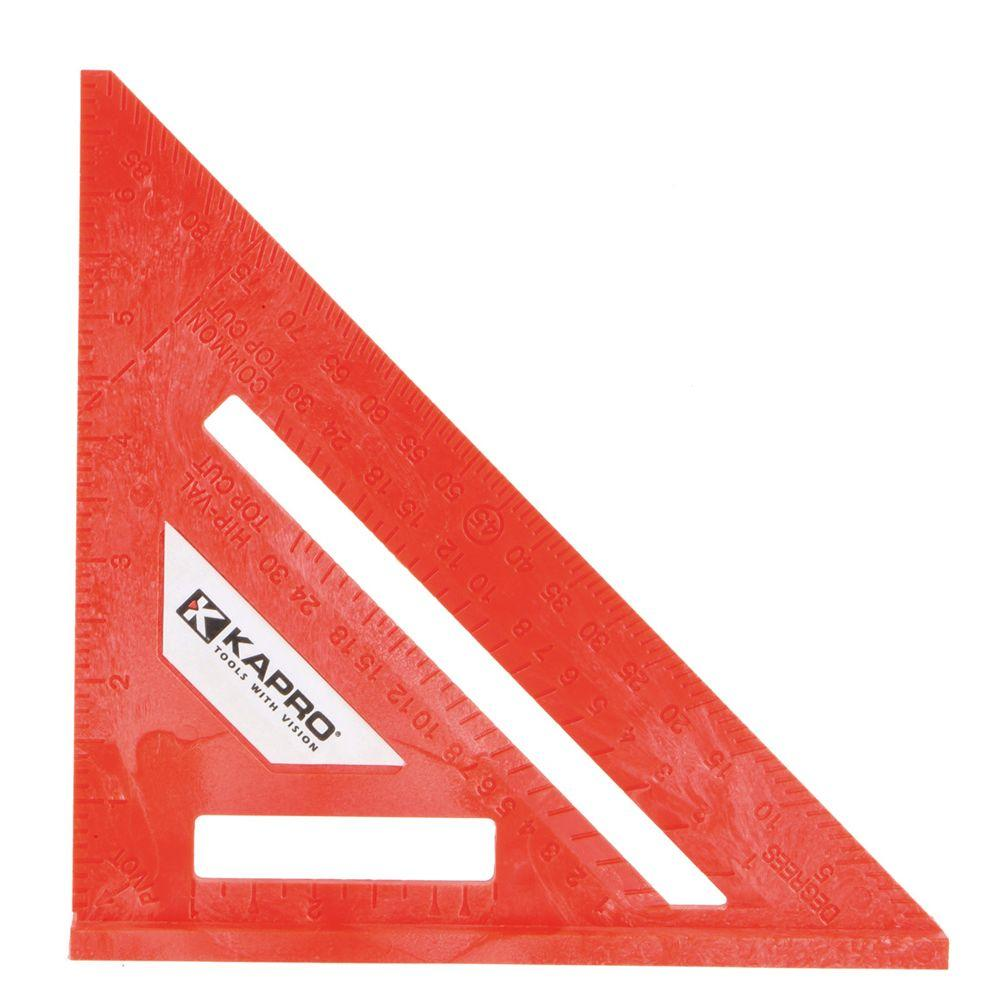Kapro 7 in. Ergocast Rafter Square