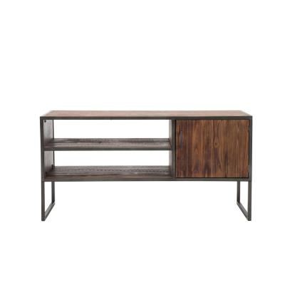 Stolk 48 in. Drift Wood TV Stand Fits TVs Up to 55 in. with Storage Doors