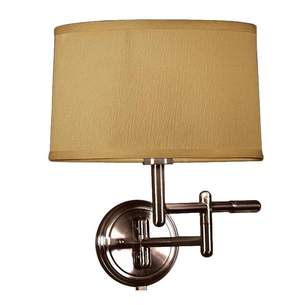Home decorators collection 1 light oil rubbed bronze wall for Home decorators lamps