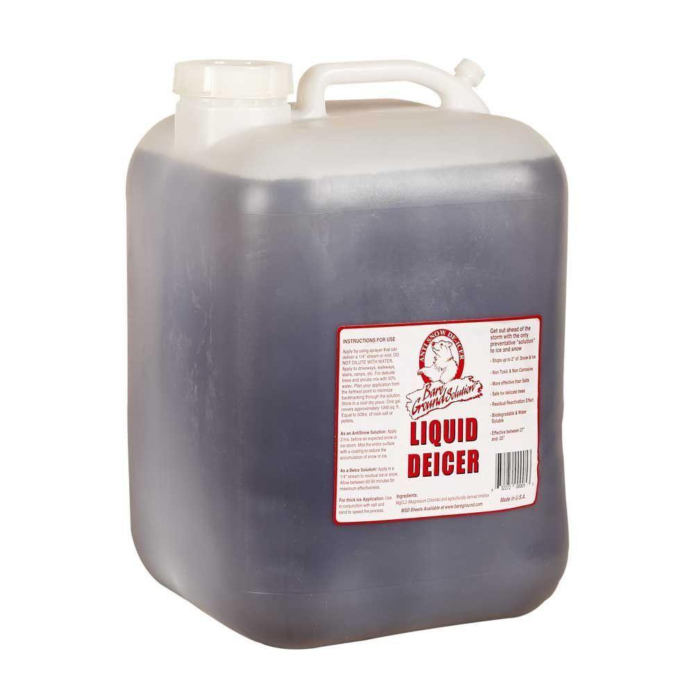 Bare Ground 5 Gal. Liquid Anti-Snow/De-Icer-BG-5P - The Home Depot