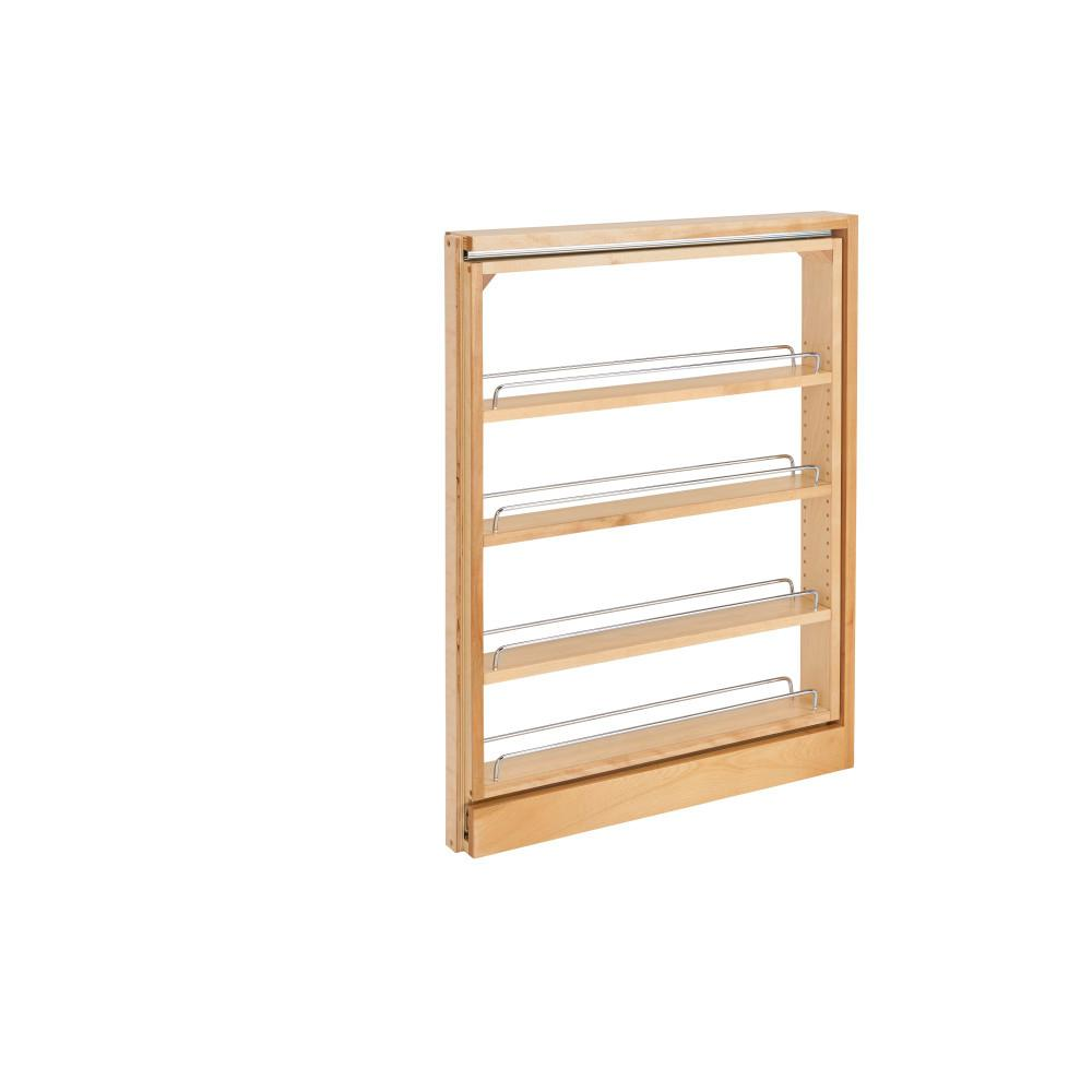 Rev A Shelf 30 In H X 3 In W X 23 In D Pull Out Between Cabinet