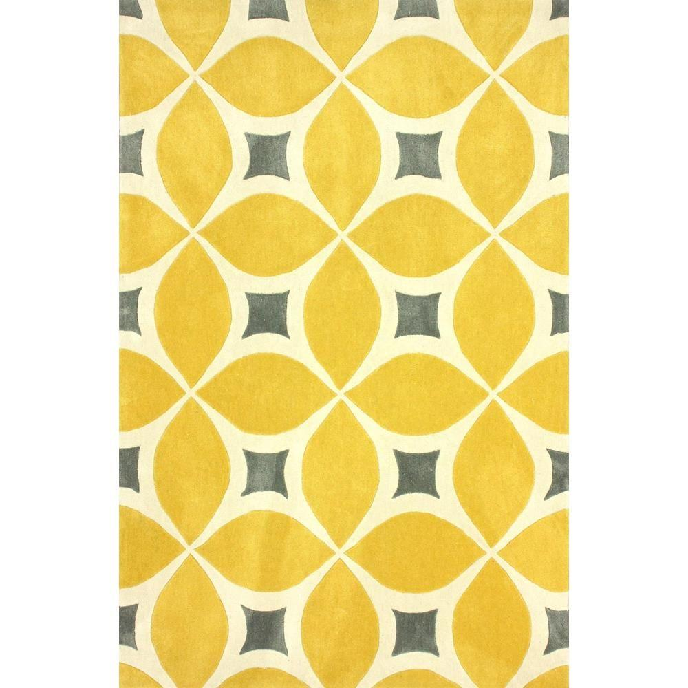 Design Yellow Rug nuloom yellow 5 x 8 area rugs the home depot rug