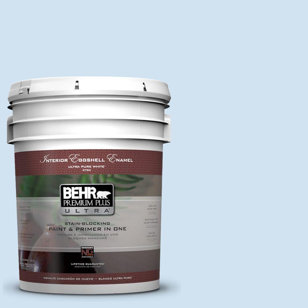 BEHR Premium Plus Ultra 5-gal. #570C-2 Mystic Harbor Eggshell Enamel Interior Paint