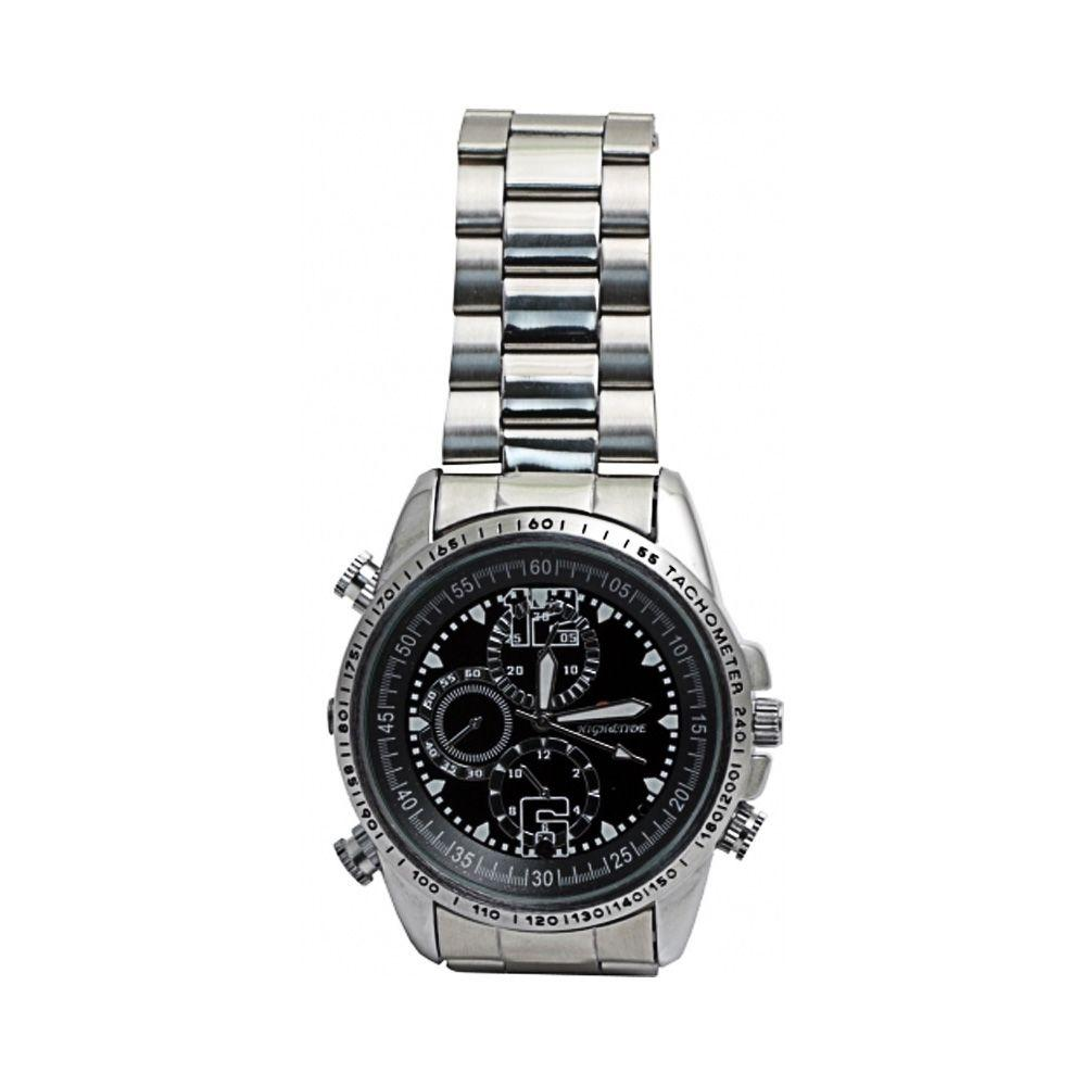New Energy Spy Watch with 8GB Memory - Silver