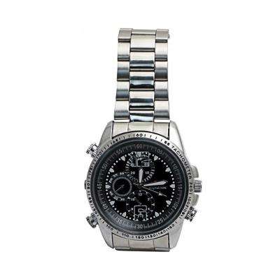 Spy Watch with 8GB Memory - Silver
