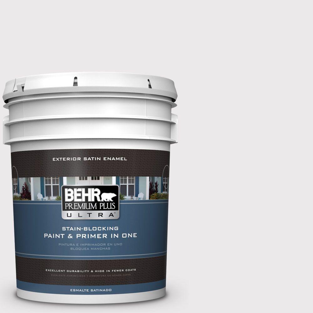 BEHR Premium Plus Ultra 5-gal. #670E-1 Timeless Day Satin Enamel Exterior Paint