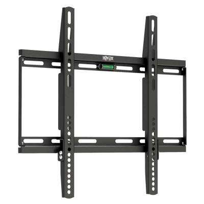 Fixed Wall Mount for 26 in. to 55 in. TVs and Monitors, Black