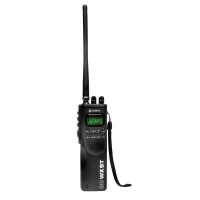 HH 38 WX ST Hand Held 40-Channel CB Radio with 10-Weather Channels and SoundTracker Noise Reduction