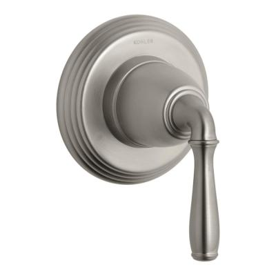 Devonshire 1-Handle Transfer Valve Trim Kit in Vibrant Brushed Nickel (Valve Not Included)