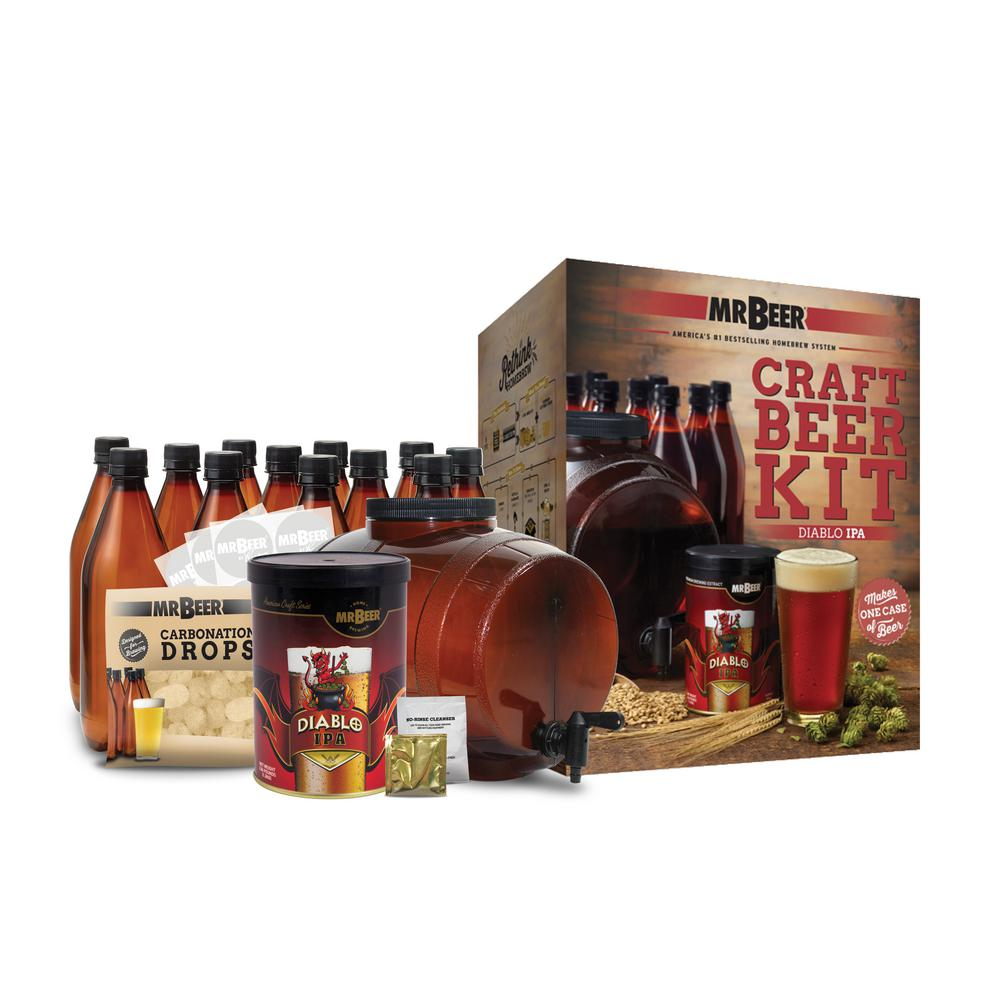 Diablo IPA Complete Craft Beer Brewing Kit