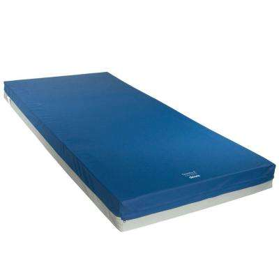 Gravity 8 80 in. x 36 in. x 6 in. Long Term Care Pressure Redistribution Mattress - No Cut Out
