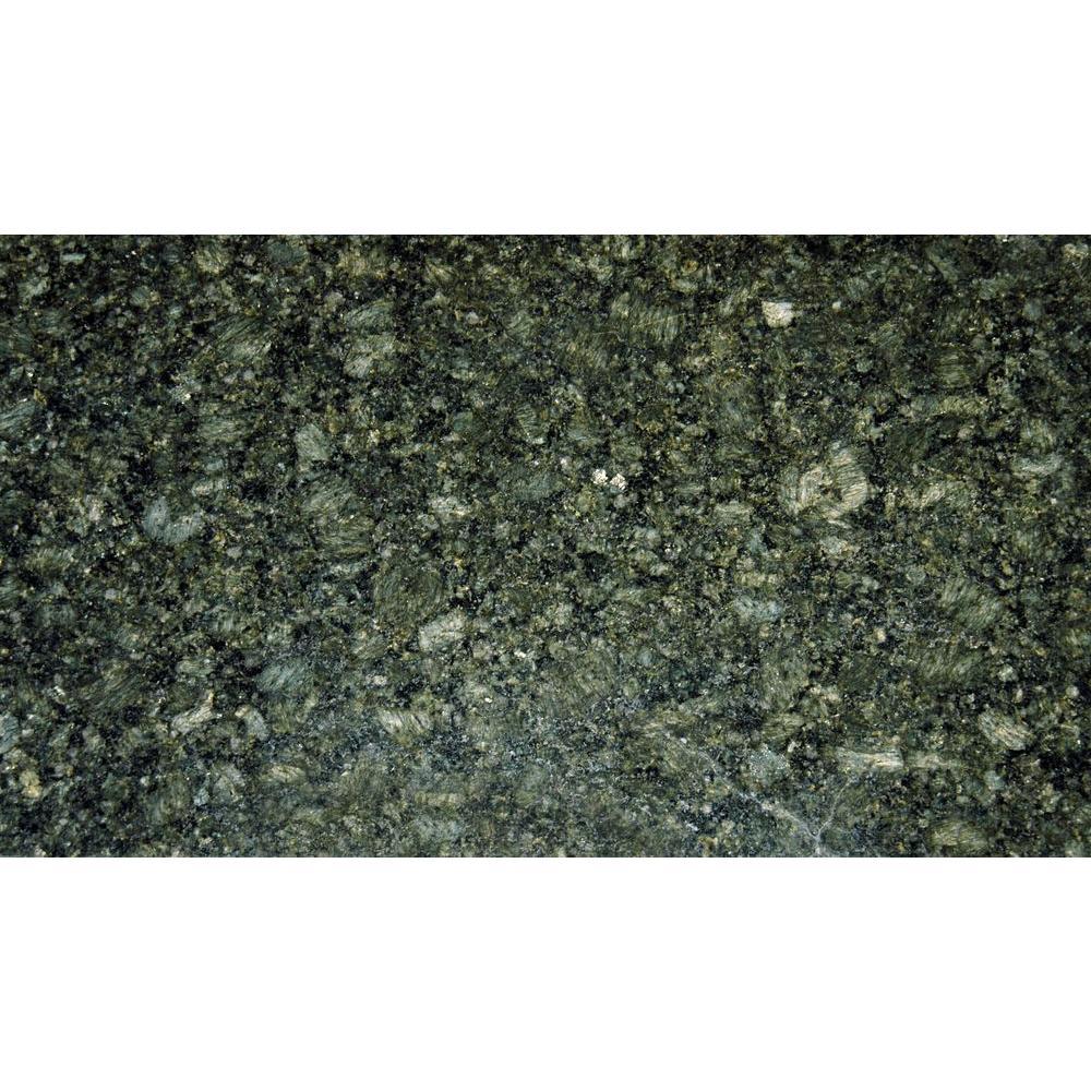 Msi Emerald Green 18 in. x 31 in. Polished Granite Floor ...