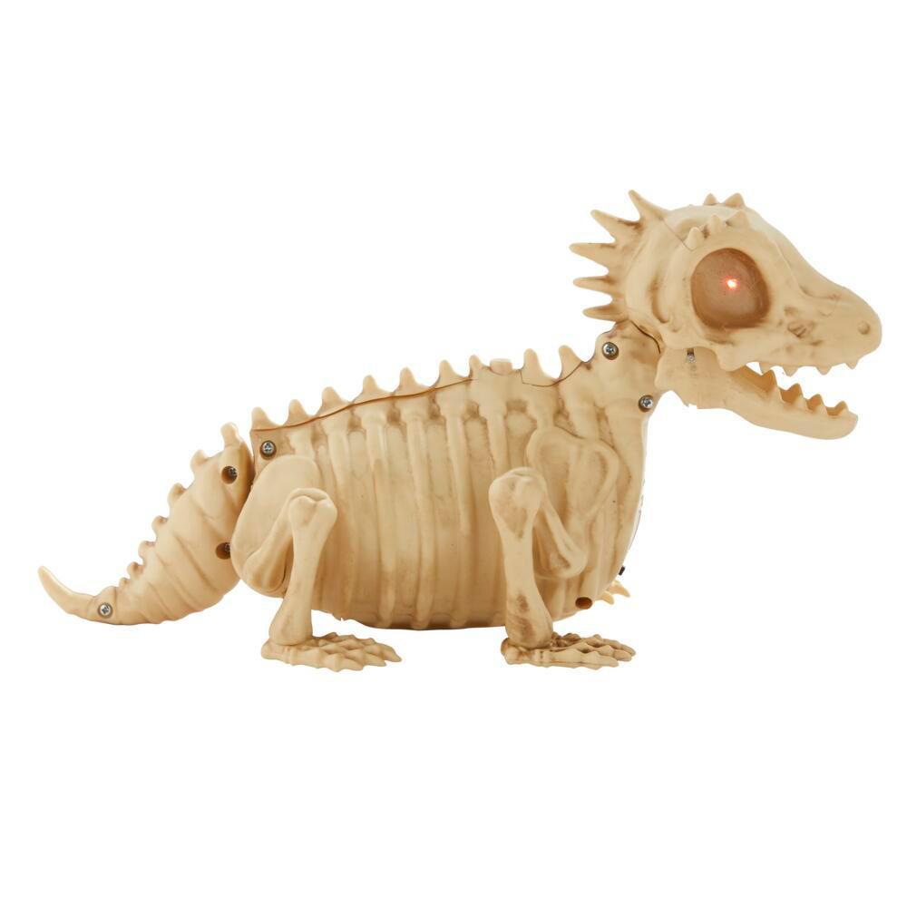 10 in. Animated Skeleton Lizard