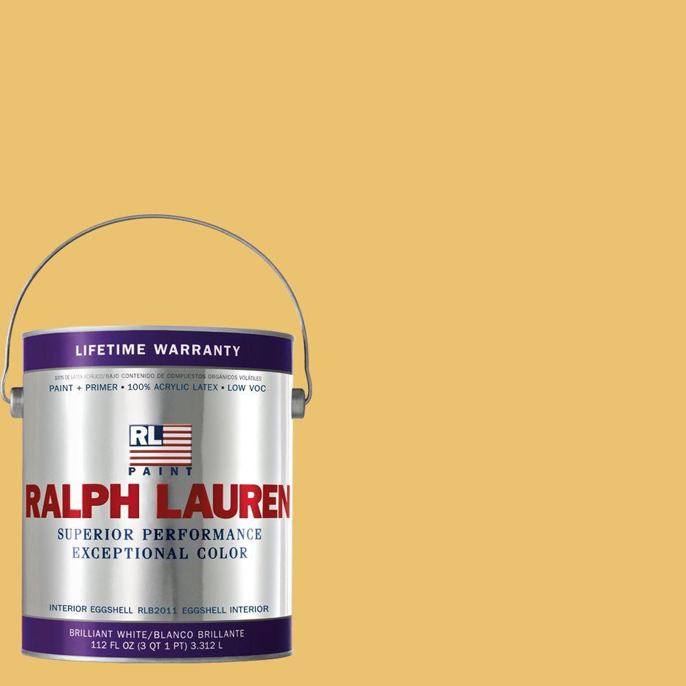 Ralph Lauren 1-gal. Crockett Yellow Eggshell Interior Paint
