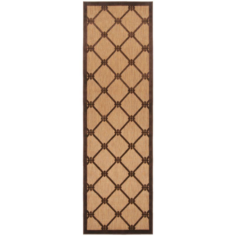 Artistic Weavers Xalapa Natural 2 ft. 6 in. x 7 ft. 10 in. Rug Runner