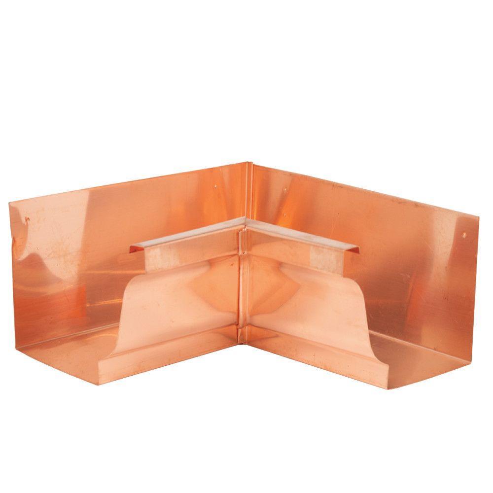 6 in. K-Style Copper Inside Mitre