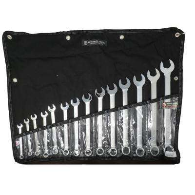 WrightGrip 12-Point Combination Wrench Set (14-Piece)