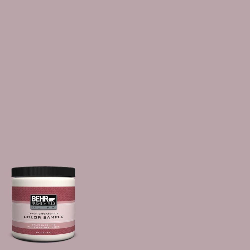 BEHR Premium Plus Ultra 8 oz. #100F-4 Dark Lilac Interior/Exterior Paint Sample
