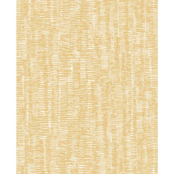 Hanko Mustard Abstract Texture Strippable Wallpaper (Covers 56.4 sq. ft.)