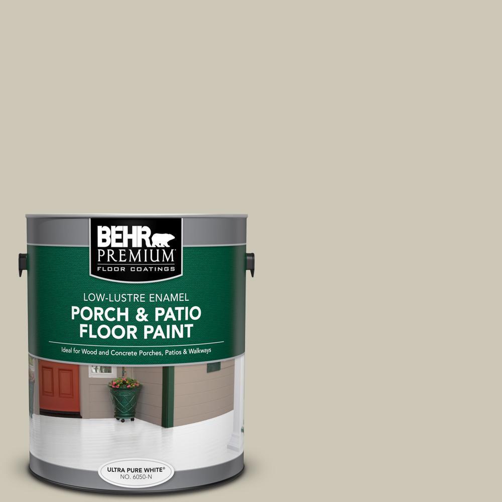 1 gal. #PPU8-16 Coliseum Marble Low-Lustre Enamel Interior/Exterior Porch and Patio Floor Paint