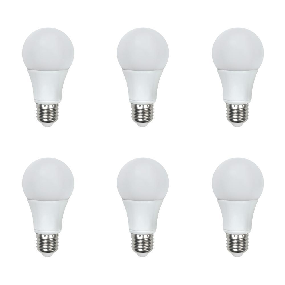 unbranded 60-Watt Equivalent A19 General Purpose LED Light Bulb Daylight (6-Pack)