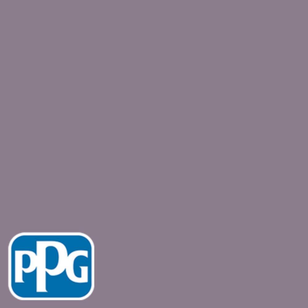 8 oz. #HDPPGV64D Plum Shadow Eggshell Interior/Exterior Paint Sample