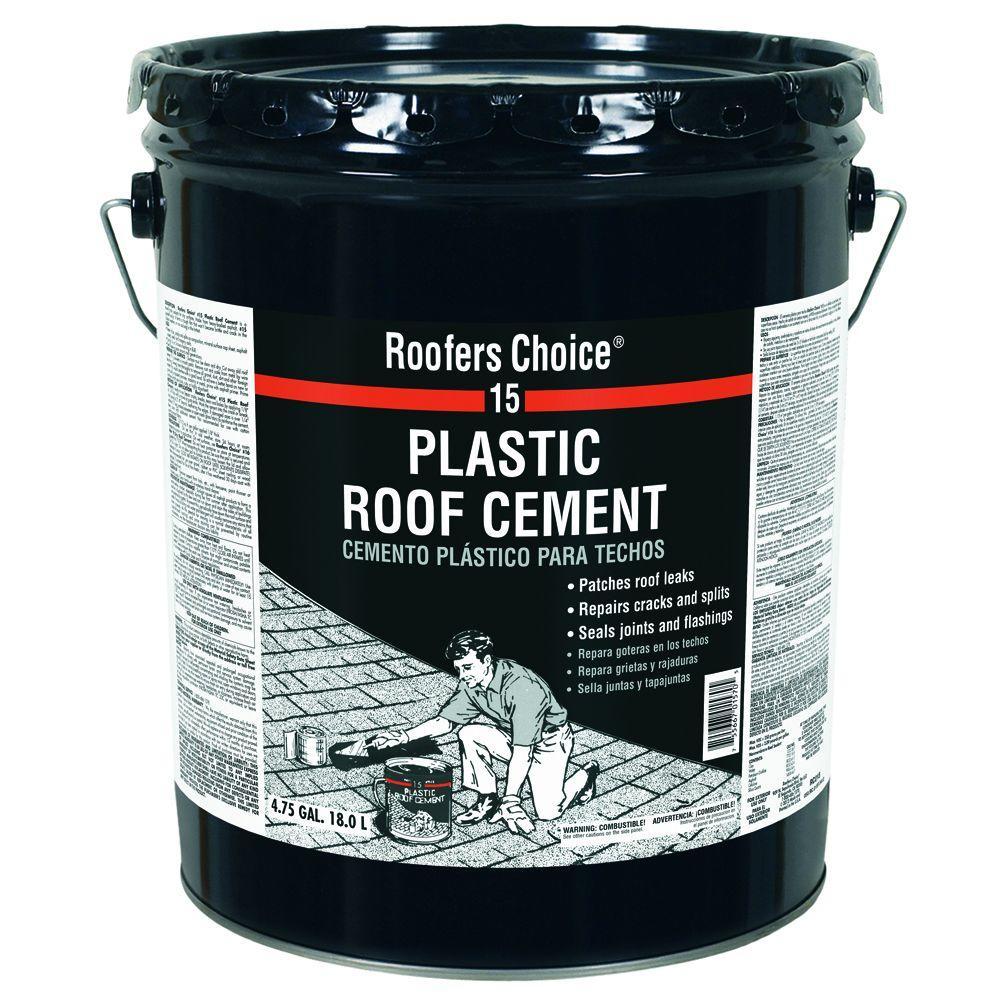 Amazing Plastic Roof Cement