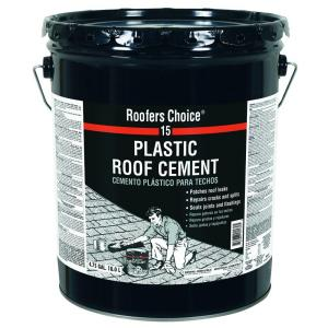 Roofers Choice 4 75 Gal Plastic Roof Sealant Cement