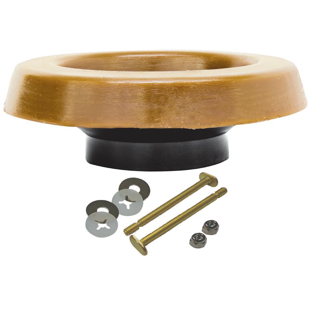Wax Ring Kit with Polyethylene Flange