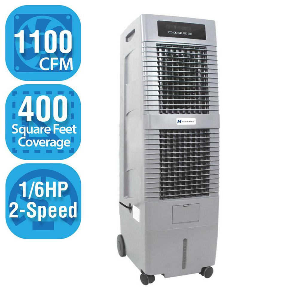 1,100 CFM 2-Speed Portable Evaporative Cooler for 400 sq. ft