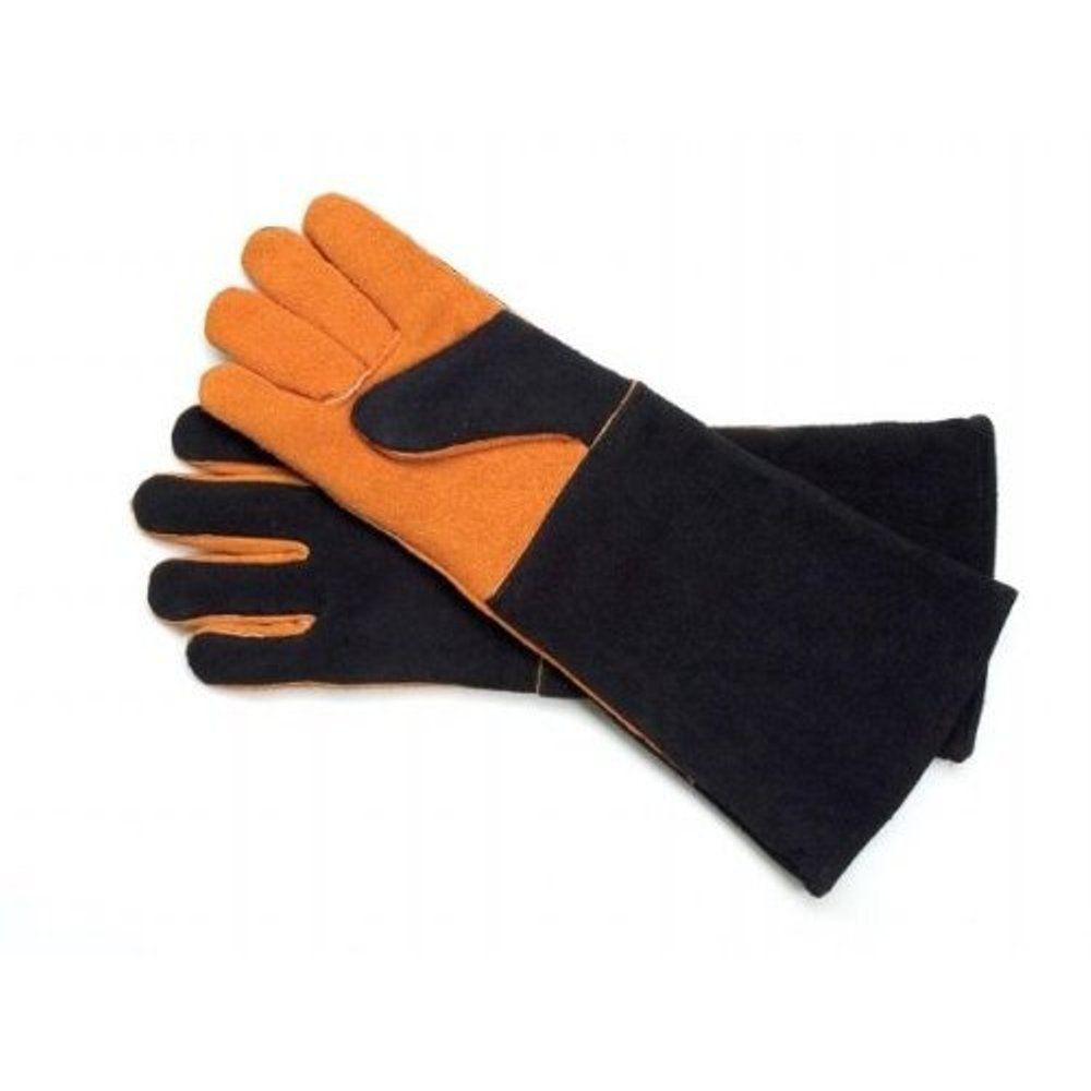 steven raichlen extra long suede gloves sr8038 the home depot