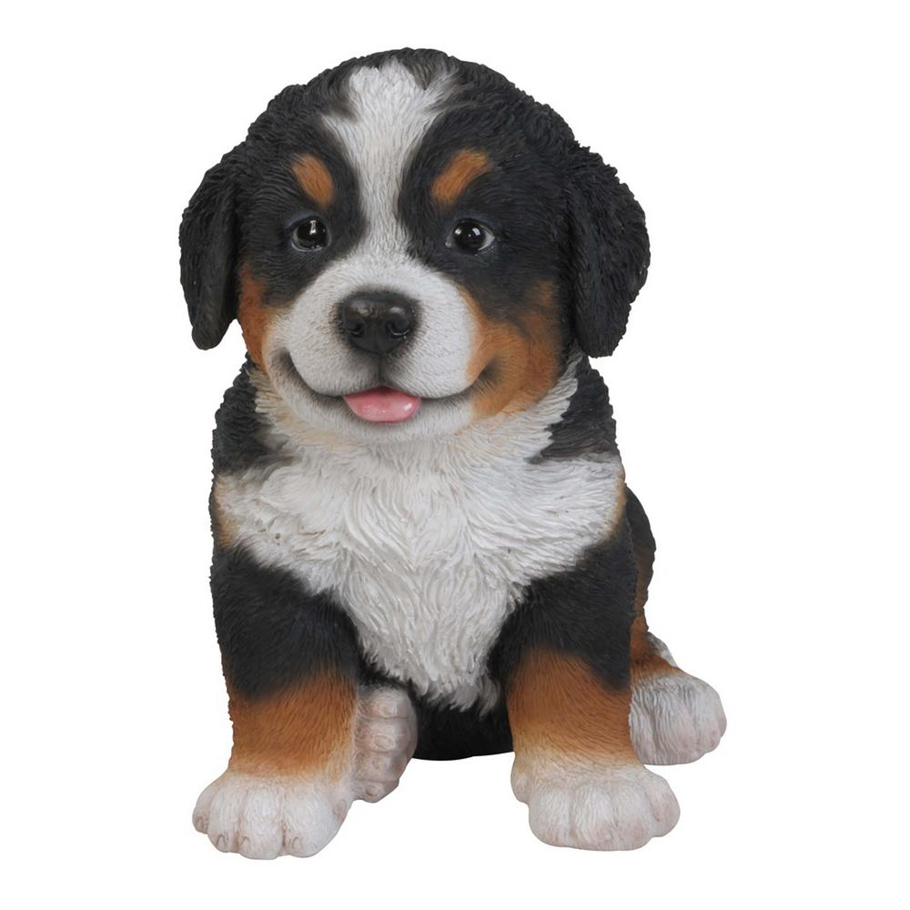 Hi Line Gift Bearnese Mountain Dog Puppy Statue