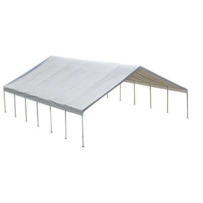 Ultra Max 30 ft. x 40 ft. White Industrial Canopy