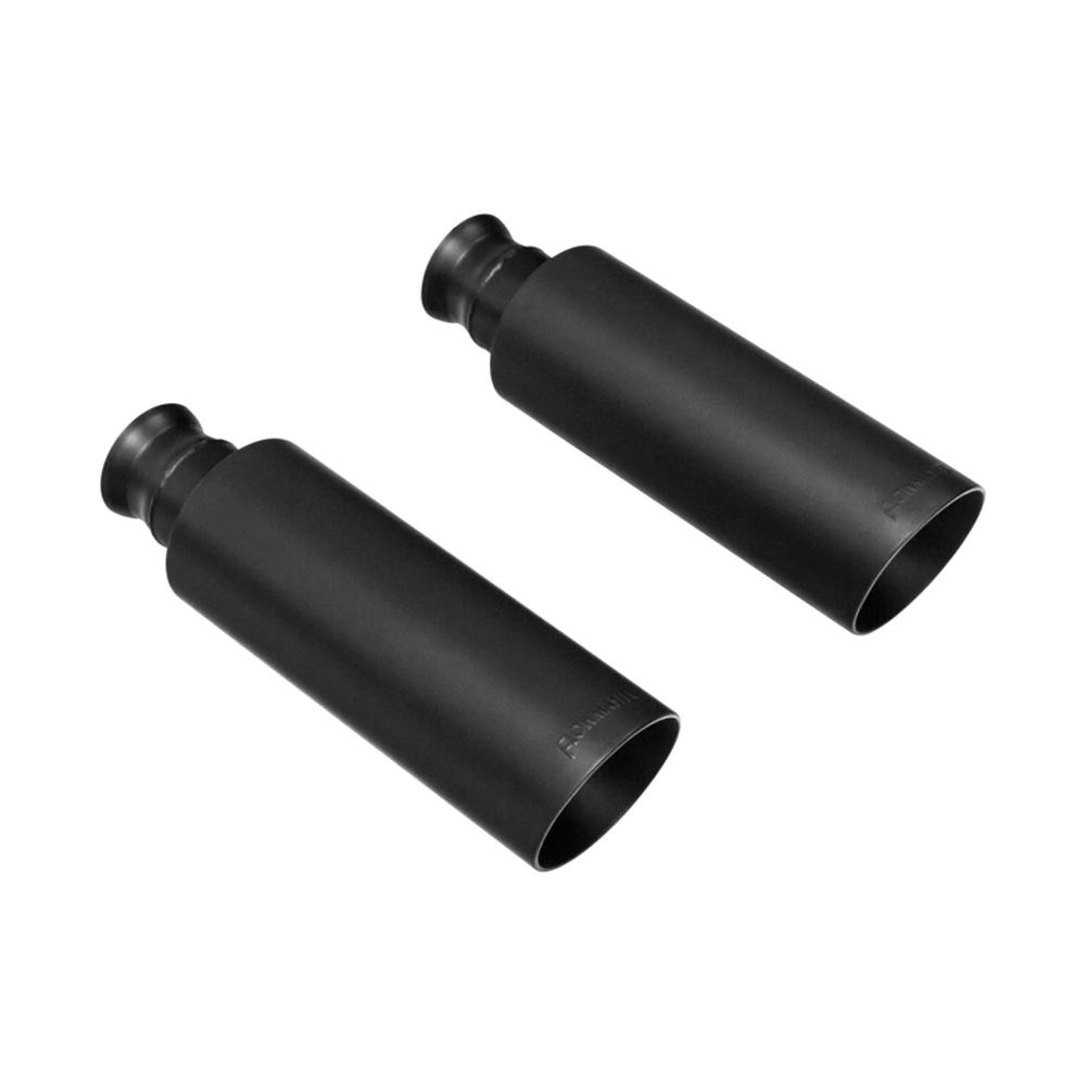Flowmaster Exhaust Tip 09-17 Dodge Ram 1500 Direct-Fit Exhaust Tips (Pair)  Black Finish 4in