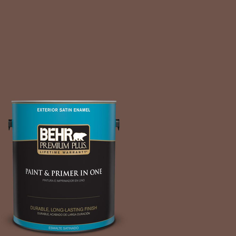 N150 6 Coffee Beans Satin Enamel Exterior Paint And Primer In One