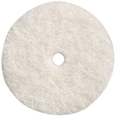 1/2 in. Felt Polishing Wheel for Ferrous Metals, Stones, Glass, and Ceramics