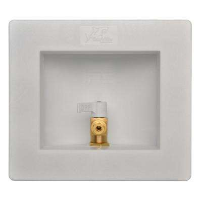 1/2 in. Brass Ice Maker Outlet Box