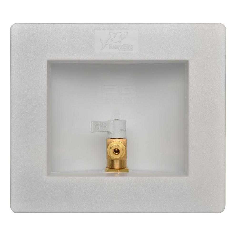 Sharkbite 1 2 In Push To Connect Br Ice Maker Outlet Box 25032