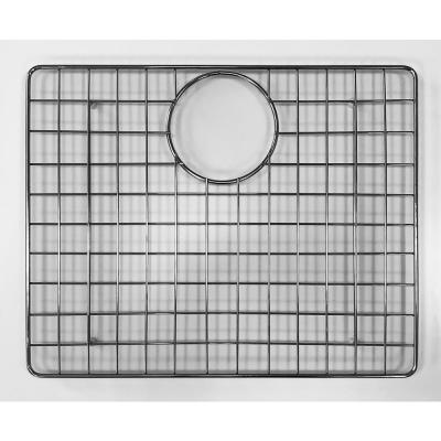 16.73 in. Grid for Kitchen Sinks in Brushed Stainless Steel