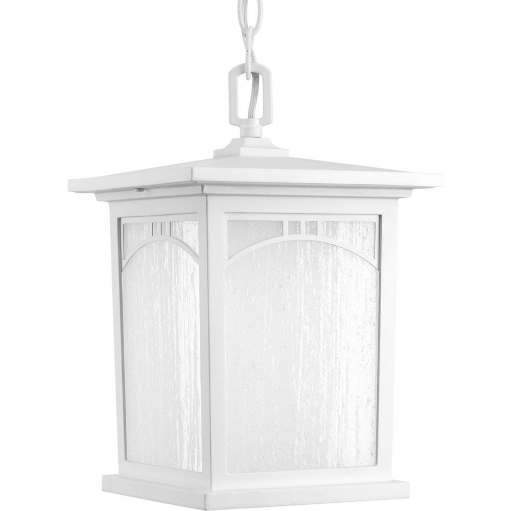 Porch Light White: Progress Lighting Residence Collection 1-Light Outdoor