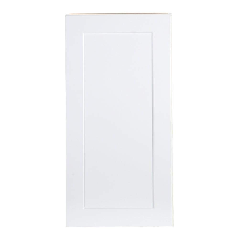 Cambridge Assembled 15x30x12.5 in. Wall Cabinet in White