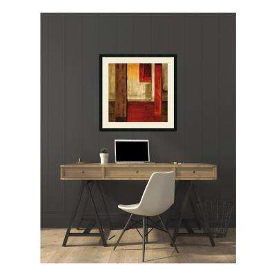 34 in. W x 34 in. H 'Crossover II' by Aaron Summers Printed Framed Wall Art