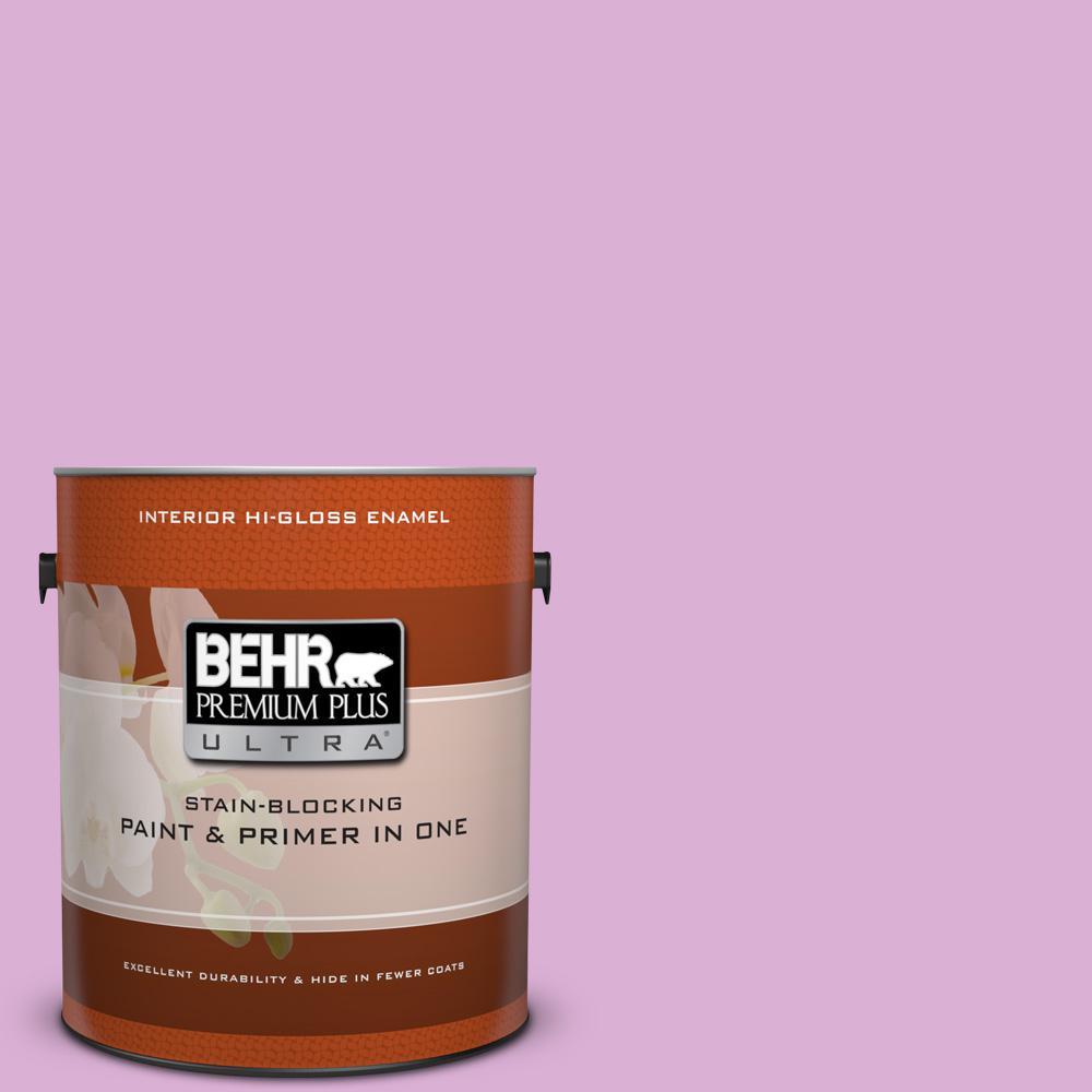 1 gal. #P110-3 Bff Hi-Gloss Enamel Interior Paint