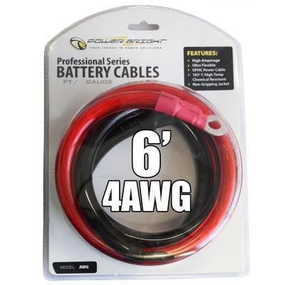 4 AWG Gauge 6 ft. Professional Series Cables