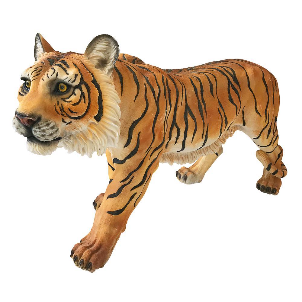 13 in. H Power and Grace Sumatran Tiger Sculpture
